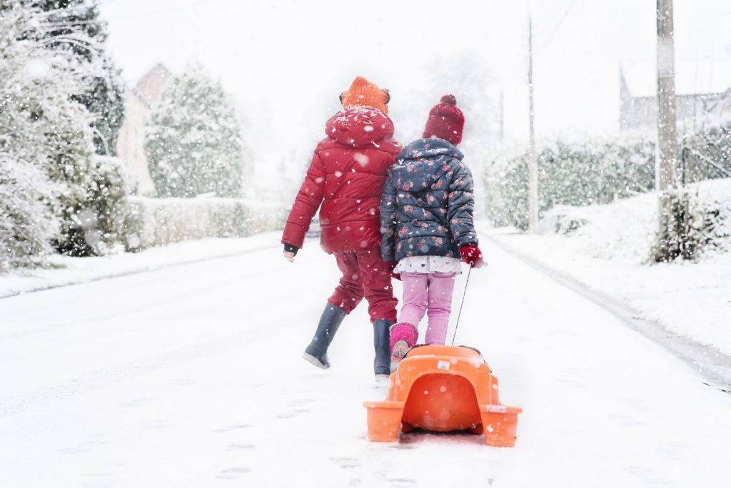 Janvier 2018, il neige !
