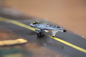 F-18 Hornet - mini - Micro Machines