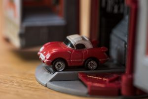 Chevrolet '55 Corvette Coupé - Classic Corvette Collection - Micro Machine, 1988