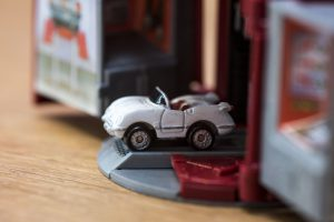 Chevrolet '55 Corvette Convertible - Convertible Collection - Micro Machine, 1988