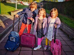 Septembre 2017 - Rentrée des filles en 1° primaire