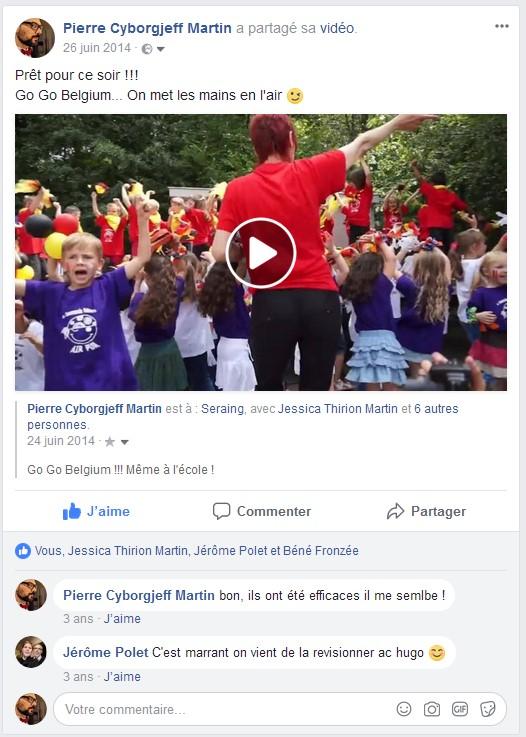 Facebook 2014 - Classe de Charly - Go Go Belgium