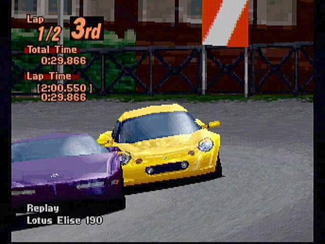 Gran Turismo 2 - Playstation (Sony - Polyphony, 1999)