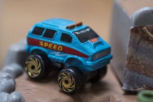 Custom Air Port Aero Van - Road Champs Mini Monster Wheels