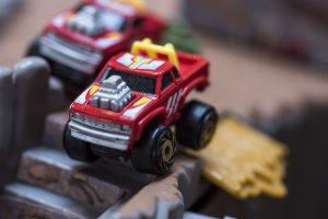 Custom Pick Up - Road Champs Mini Monster Wheels