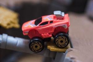 Custom Ferrari Testa Rossa - Road Champs Mini Monster Wheels