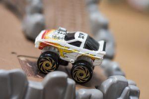 Custom 80s Corvette - Road Champs Mini Monster Wheels