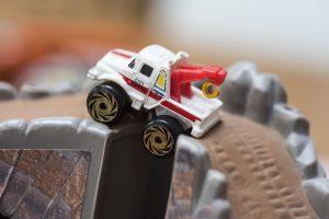 Town Truck - Road Champs Mini Monster Wheels