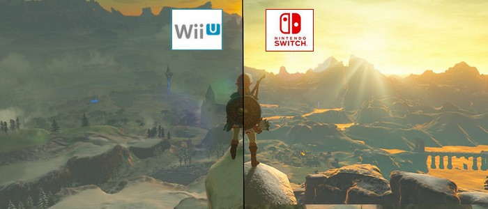 Breath of the Wild sur Switch semble plus ''lumineux'