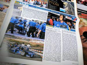 Jacky Eeckelaert - Presse Belge - Prost Peugeot - 1998