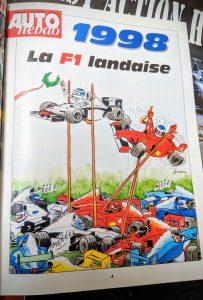 AutoHebdo 1998 - La F1 landaise