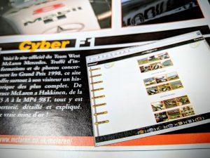 Cyber F1 - 1998 - Mc Laren