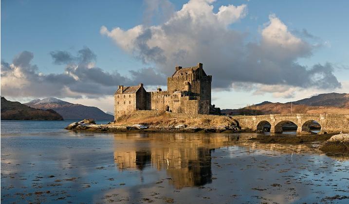 le château Eilean Donan Castle