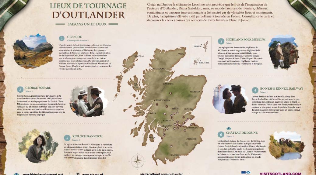L'Ecosse de Outlander