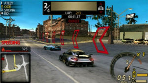 Need For Speed : Undercover - PSP (Electronic Arts - Piranha Games, 2008)
