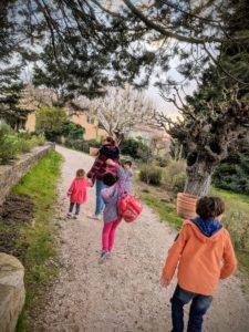 Une campagne en Provence, vacances 2018