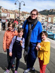 On découvre le joli port de Cassis