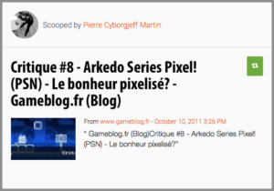 Arkedo Serie sur le Playstation Store