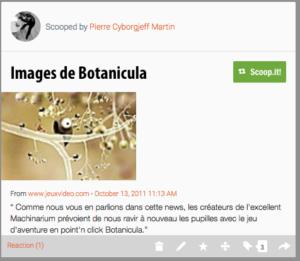 Premières images de Botanicula