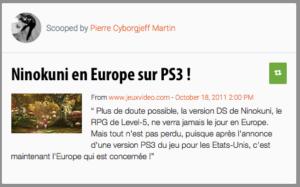 Ninokuni sur PS3