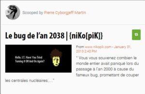 Le Bug de l'an 2038