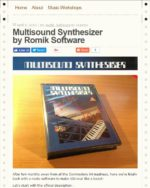 Multisound Synthesizer pour Commodore 64