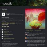 Aerials le nouvel album de Mosaik