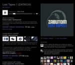 Lost Tapes 1, le dernier album de Zabutom