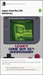 OCRemix fête les 25 ans de la GameBoy