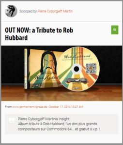 Tribute to Rob Hubbard