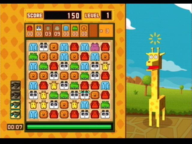 Zoo Puzzle - PS2 (Succes Corp - Buddiez Inc, 2004)
