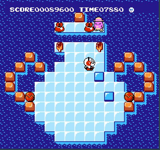 Kickle Cubicle - NES (Irem, 1990)