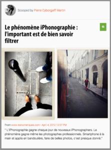 L'iPhonographie