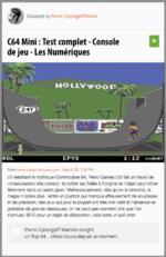 Pacman Syndrome : C64mini et autres Nintendosités