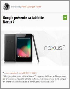 Google Nexus 7'