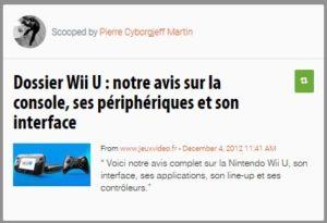 Dossier WiiU