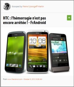 HTC va mal