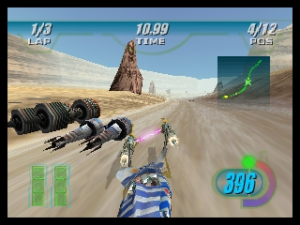 Star Wars Episode I - Racer - N64 (Lucas Arts, 1999)
