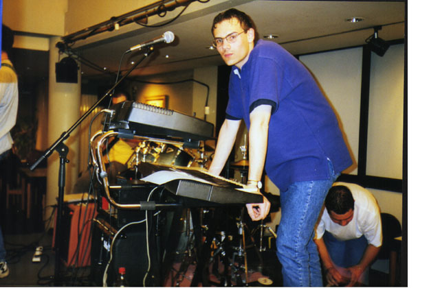 Virtual Music - Concert au Centre Culturel de Seraing, 1999
