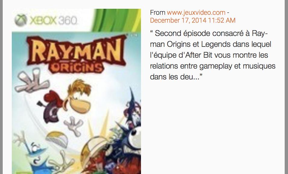 Afterbit - Rayman