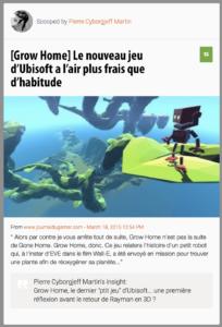"""Grow Home, le dernier """"ptit jeu"""" d'Ubisoft... une première réflexion avant le retour de Rayman en 3D ?"""