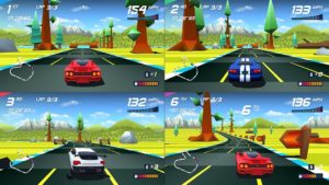 Horizon Chase Turbo - PS4 (Aquiris, 2018)