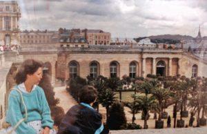 Visite de Versailles - 1990