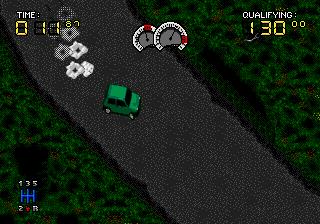 Power Drive - Megadrive (US Gold - Rage Software, 1994)