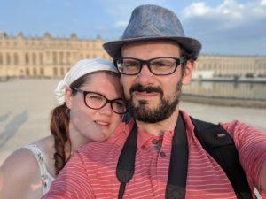 Versailles - Les grandes eaux nocturnes en amoureux
