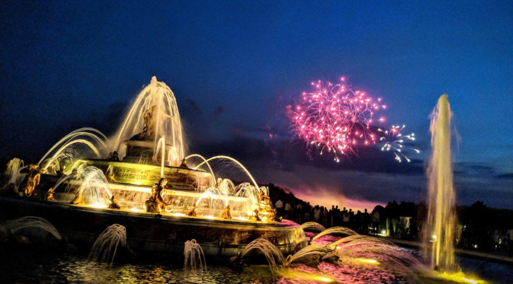 Les Grandes Eaux Nocturnes - Versailles