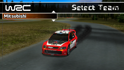 WRC - PSP (Sony - Travellers Games, 2005)