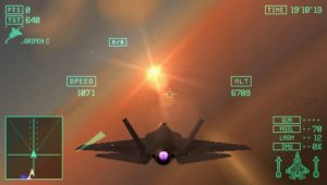Ace Combat X : Skies of deception - PSP (Namco - Acces Games, 2006)