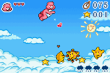 Carebears : Care quest - GBA (Sirius Games - The Game Factory, 2005)