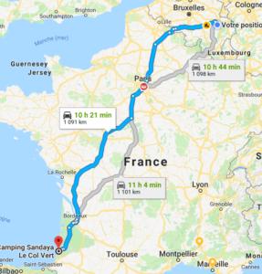 Belgique - Aquitaine